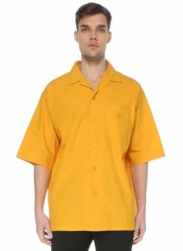 Kenzo Gömlek Oranj